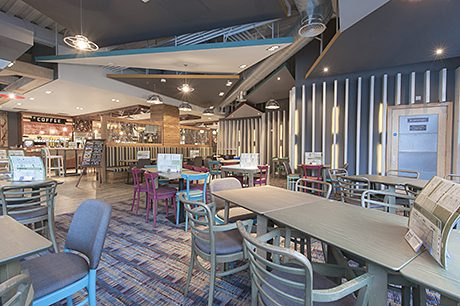 Increased overseas travel is having an impact on interior design in bars and pubs.