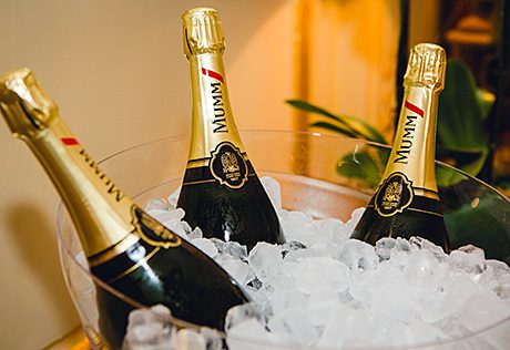 • GH Mumm is owned by Pernod Ricard.