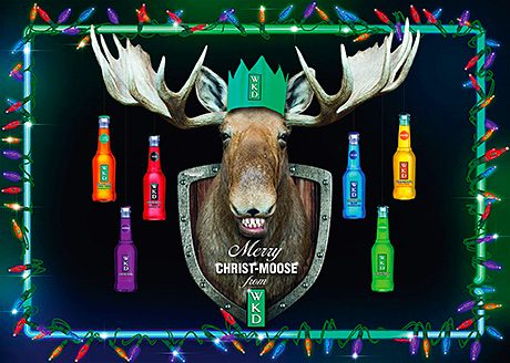 • The WKD on-trade Christmas activity will give pub customers the chance to win moose hats.