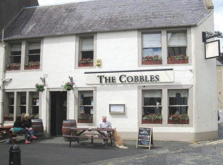 The Cobbles was named the best pub in Scotland and Northern Ireland in the Good Beer Guide.