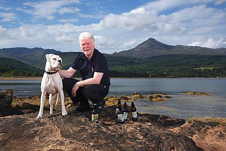 • Arran Brewery boss Gerald Michaluk said the craft beer sector is booming.