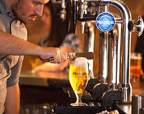 • 'Beheading' the beer is a crucial part of the Heverlee perfect serve and a focus of staff training. The beer was introduced earlier this year.