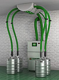 • Heineken claims that its new SmartDispense range delivers quality pints and reduces energy costs and wastage.
