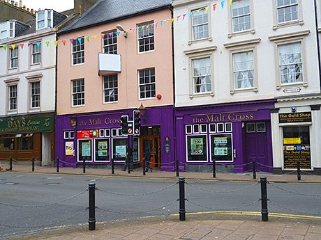 • The Malt Cross in Ayr is one of eight Bramwell sites for sale in Scotland through Christie & Co.