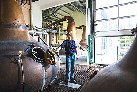 • Two new copper stills were installed at Diageo's Linkwood distillery.