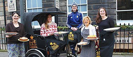 • The restaurant team and Walsh join forces to open the new bakery.