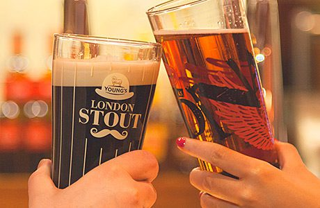 • London Stout and DNA.