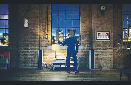 • The new TV ad shows 'Gordon the Boar' dancing around a loft apartment (above). The new character is based on the boar's head which has appeared on Gordon's bottles since the brand was launched in 1769.