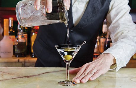 Customers are willing to 'trade-up' to premium spirits and classic cocktails, drinks firms said.