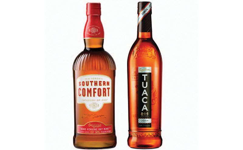 Southern Comfort and Tuaca distributed by Hi-Spirits 2
