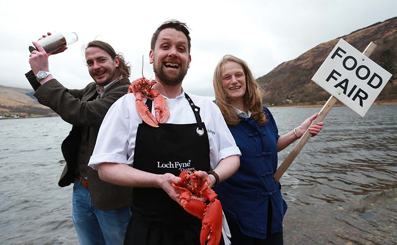 Loch Fyne Monday 21st March 2015 Photographer Stewart Attwood LUX PR