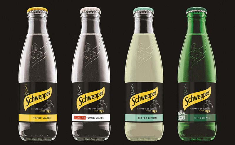 Schweppes new packaging lineup 200ml[2]
