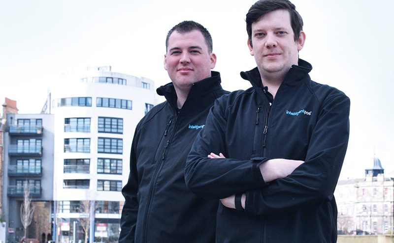 • Intelligent POS founders Robin Knox (left) and Paul Walton welcomed the iZettle deal.