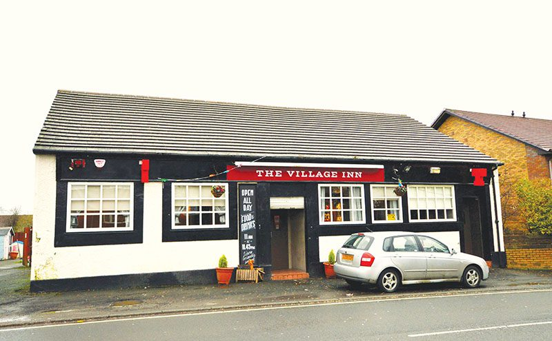 • The Village Inn has changed hands.