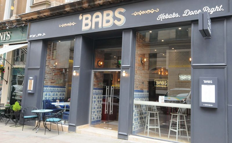Located on Glasgow's West Nile St, 'Babs has infused Mediterranean style into both its menu and interior. The concept could be rolled out to more venues by owners the Avdylis.