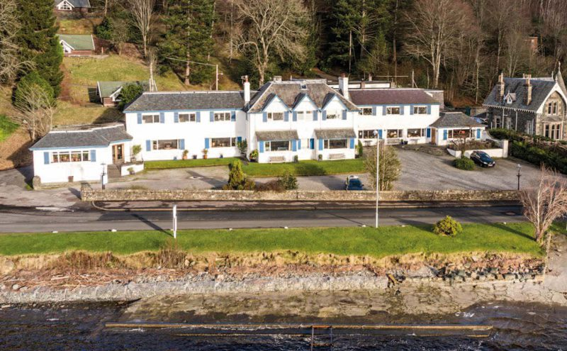 The Four Seasons Hotel in St Fillans