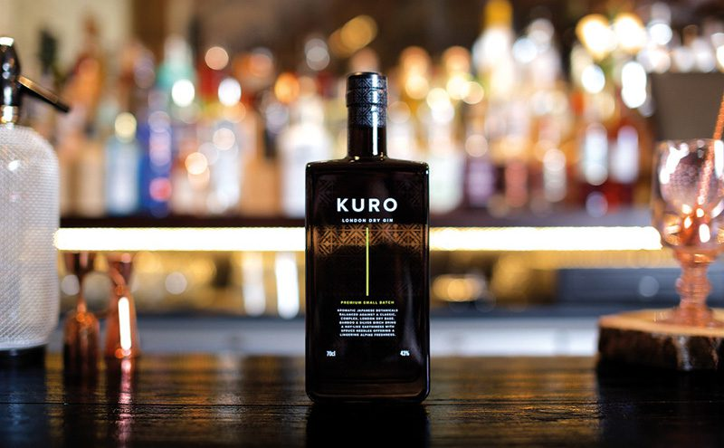 """New London Dry gin, Kuro, was created to """"capture the essence of the Japanese Alps""""."""