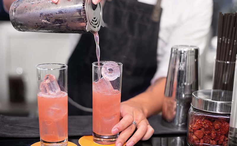 Mocktails are also said to be an important consideration throughout the festive season.