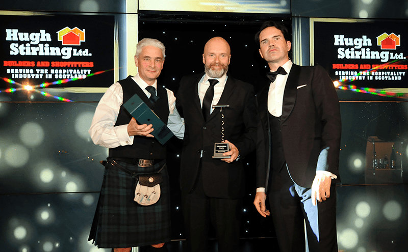 Winner: Brian Fulton, Hold Fast Entertainment, Glasgow