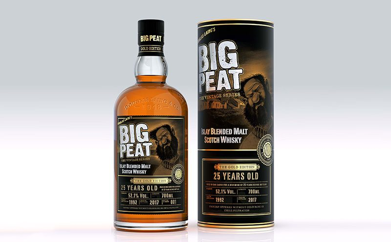 Big Peat 25 Year Old Gold Edition