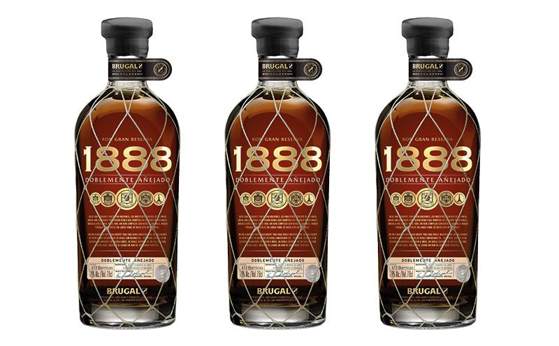 Brugal 1888 has an all-new design.