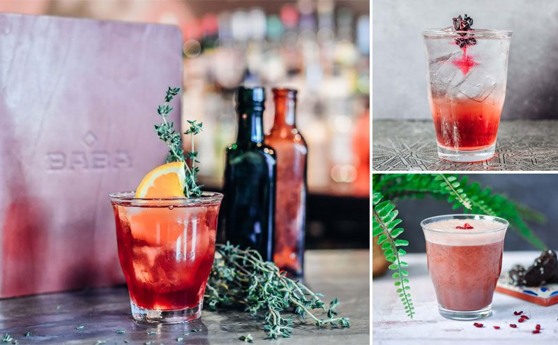 The summer cocktail list combines classics with Levant-inspired flavours.