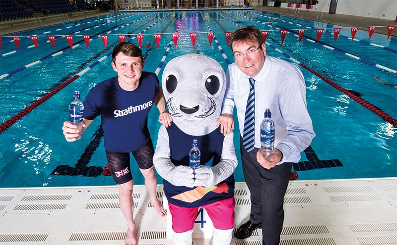 Ross Murdoch, Bonnie the seal and Jonathan-Kemp