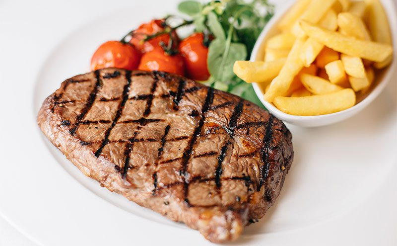 A Grand Cafe steak