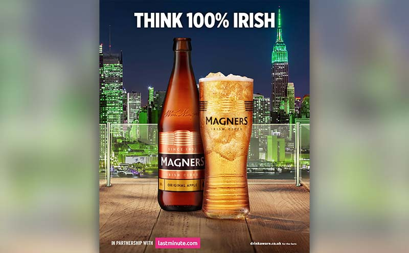Magners Big Apple competition runs until December.