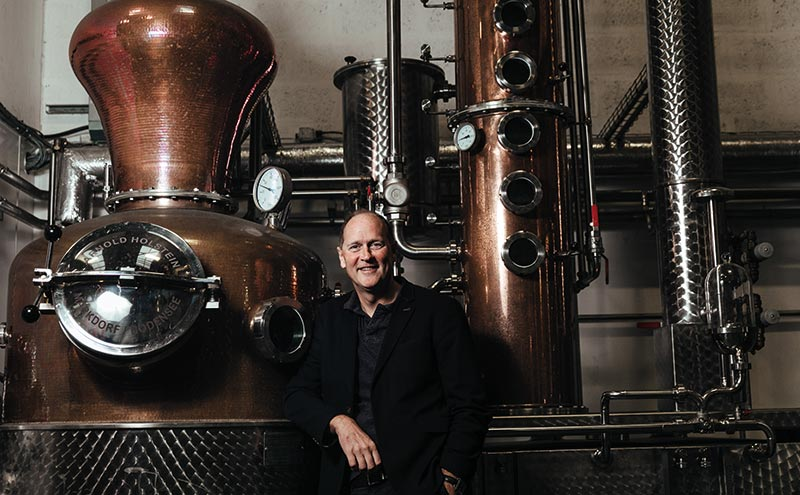 David Gates will oversee Brewdog's distilling arm, Lonewolf