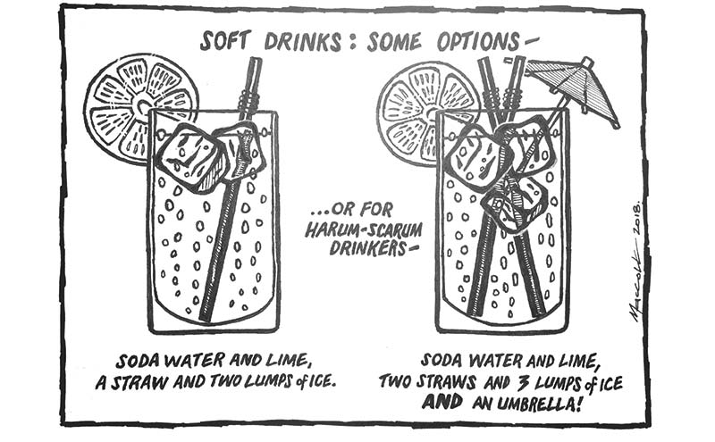 Drinks cartoon