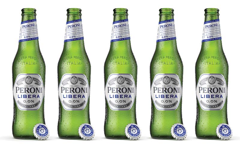 New for 2019: Peroni Libera 0.0%