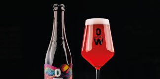 Cosmic Crush Raspberry is a 5.8% ABV sour beer
