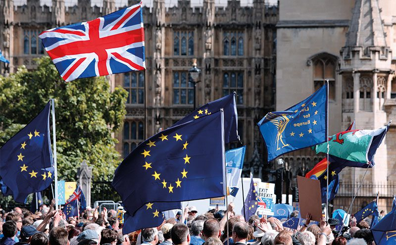 Brexit rally