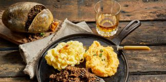 A selection of Scottish food and drink