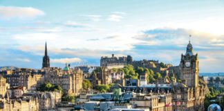 Edinburgh City Cityscape