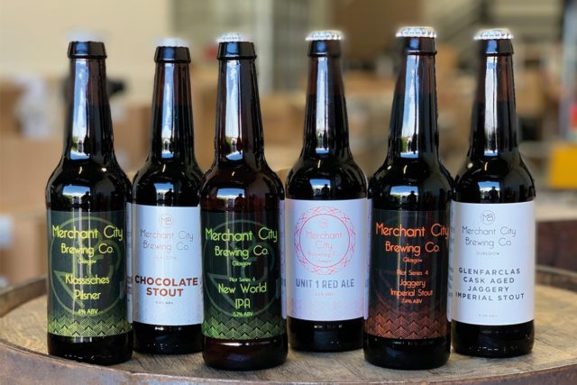 Merchant City Brewing Beers