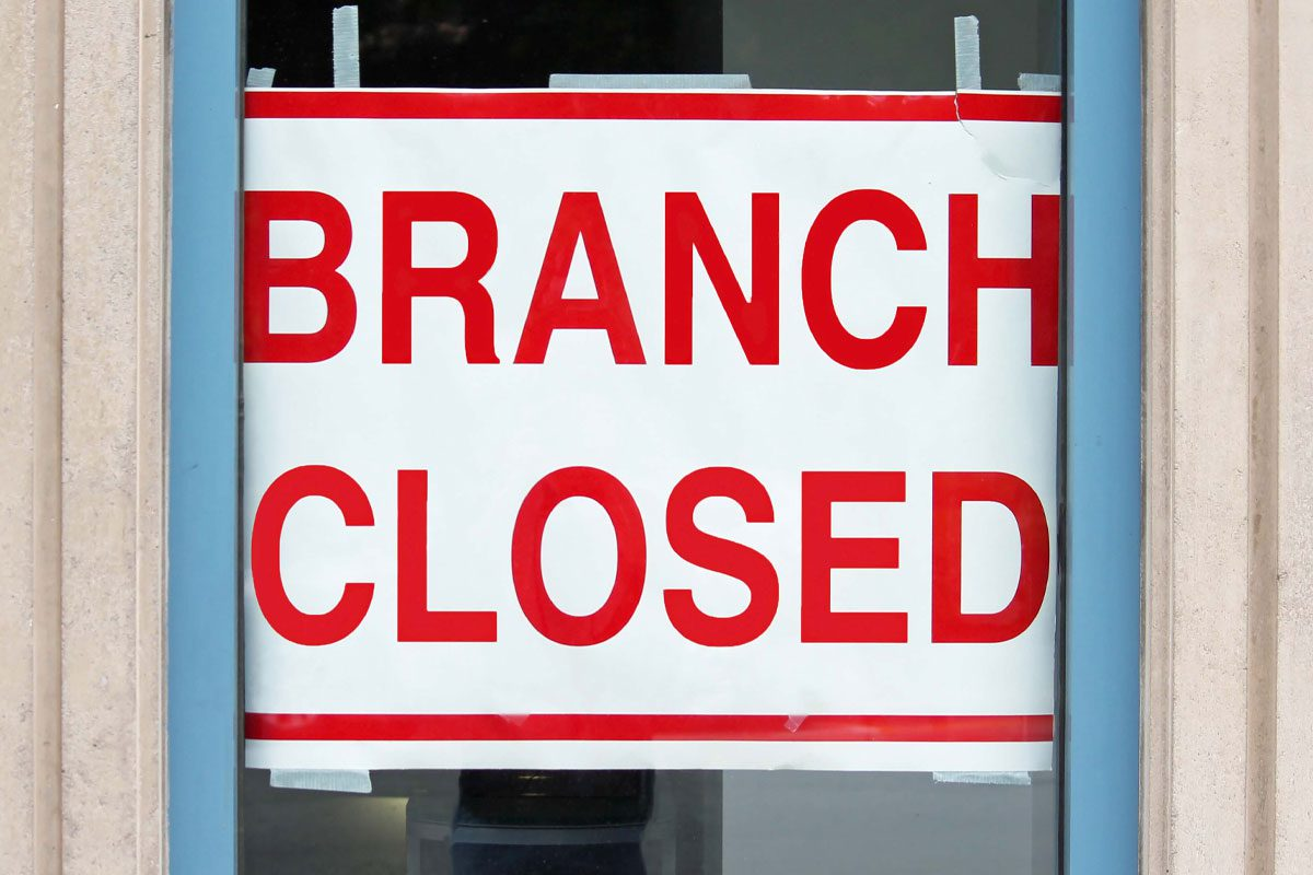 bank closure