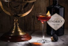 Hendrick's cocktail