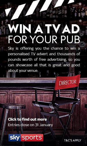 Sky Win a TV ad for your pub