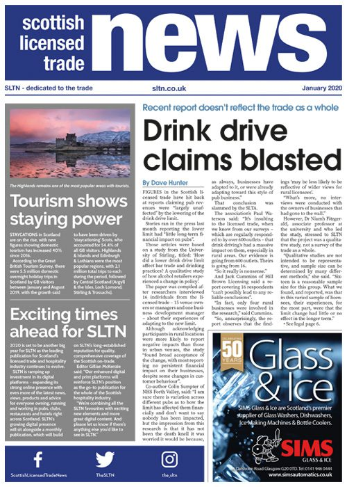 SLTN front cover January