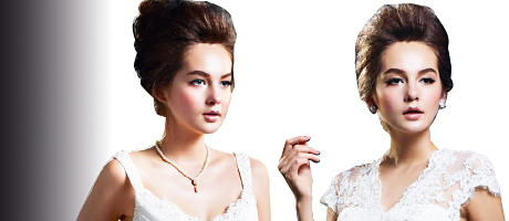Bridal label Enzoani has added a new line to its collection named 'Beautiful'.