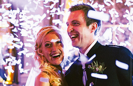 Your first dance is bound to be spectacular enough, but 21CC's indoor pyrotechnics can add sparkle