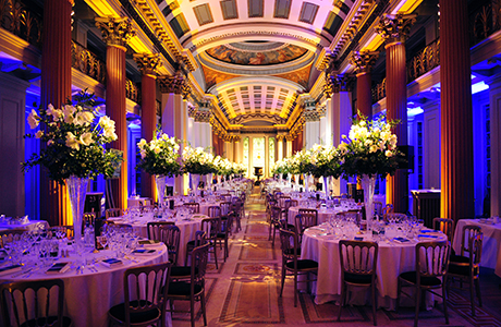 Edinburgh's Signet Library is a Georgian masterpiece with an extraordinary interior that can be hired out for glamorous, elegant receptions