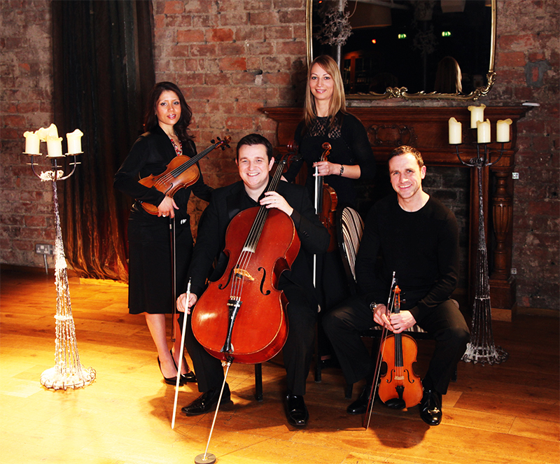 David Laing and the Capella String Quartet give popular pieces the classical treatment