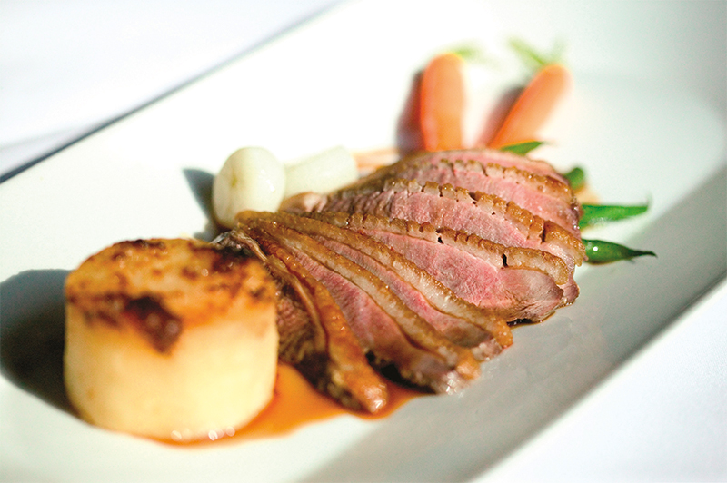 Norton House boasts a three AA Rosette restaurant and offers personalised menus