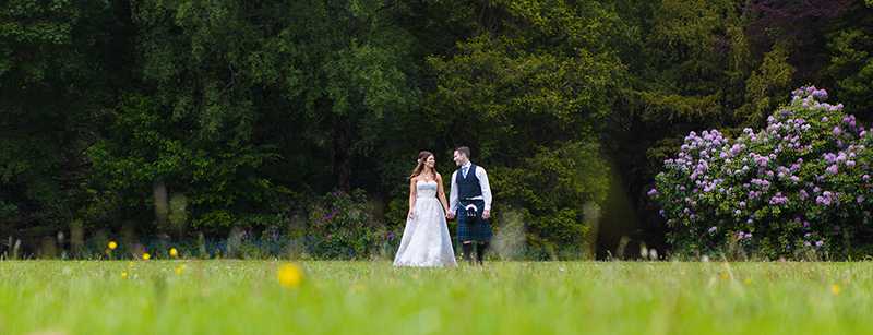 A clever photographers use their time alone with the couple to capture them in splendid isolation (gwsphotography.co.uk)