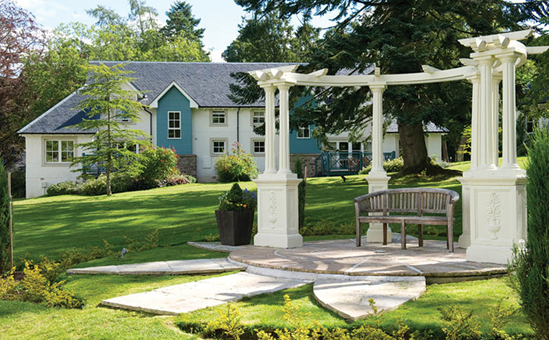 Breathe in the fresh air at the Duchally Country Estate