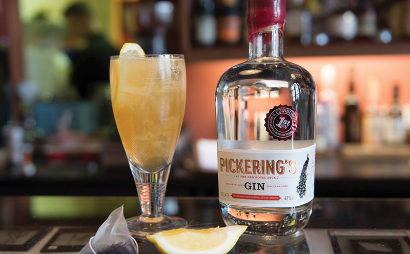 Gin is the name of the game at Summerhall Distillery