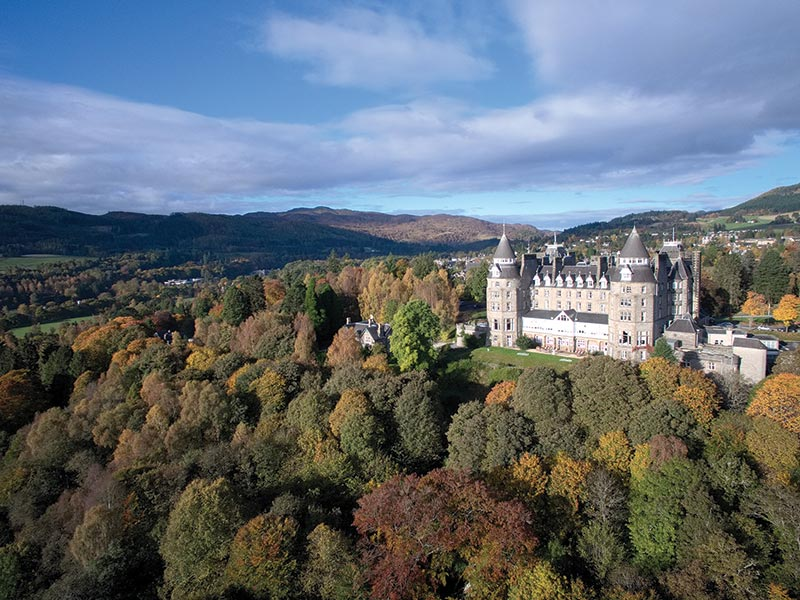 Atholl Palace Hotel, perfect for a woodland wedding